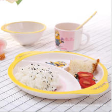 (BC-MK1016) Fashinable Design Reusable Melamine 4PCS Kids Cute Dinner Set
